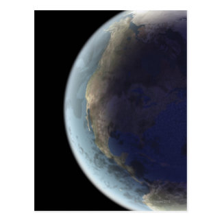 Earth from Space 6 Postcard