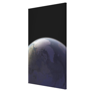 Earth from Space 8 Stretched Canvas Prints
