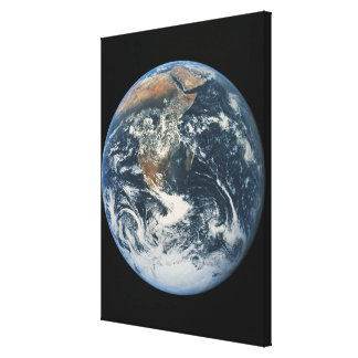 Earth from Space 9 Gallery Wrapped Canvas