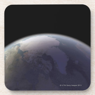 Earth from Space 9 Drink Coasters