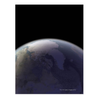 Earth from Space 9 Postcard