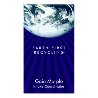 Earth from Space Card Pack Of Standard Business Cards