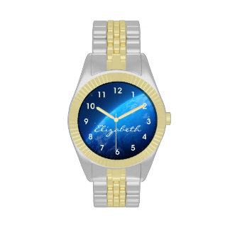 Earth From Space Wristwatches