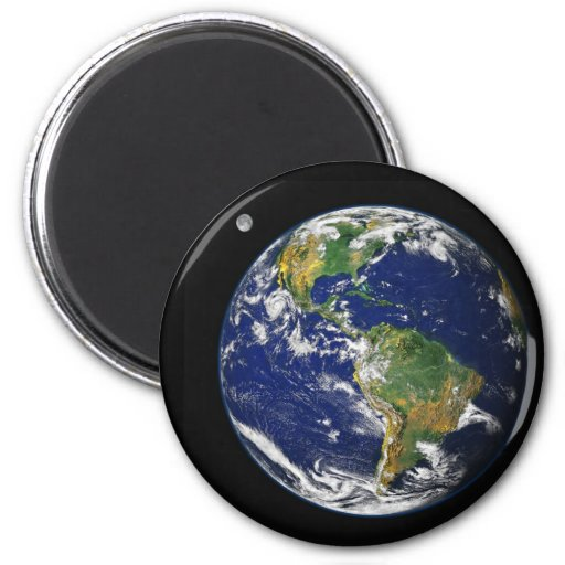 Earth from space magnets