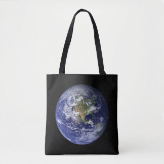 Earth From Space - See Both Sides Tote Bag