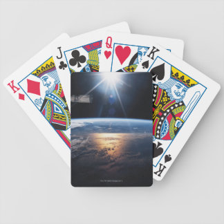 Earth from Space Shuttle 2 Bicycle Playing Cards