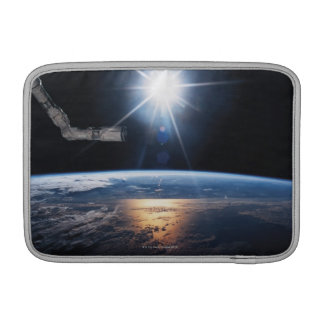 Earth from Space Shuttle 2 MacBook Air Sleeves