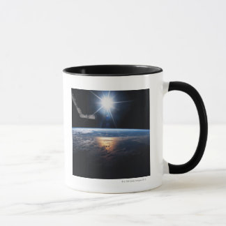 Earth from Space Shuttle 2 Mug
