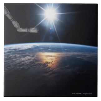 Earth from Space Shuttle 2 Tile