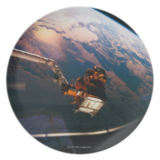 Earth from Space Shuttle 3 Plate