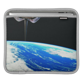 Earth from Space Shuttle 4 iPad Sleeve