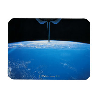 Earth from Space Shuttle Rectangular Photo Magnet