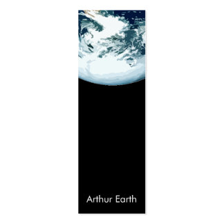 Earth from Space Skinny Card Pack Of Skinny Business Cards