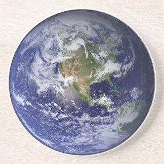Earth From Space - Western Hemisphere Coaster