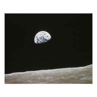 Earth from the Moon 2 Poster