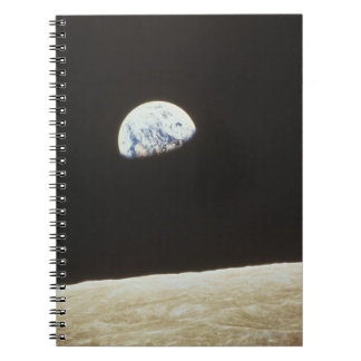 Earth from the Moon Notebook