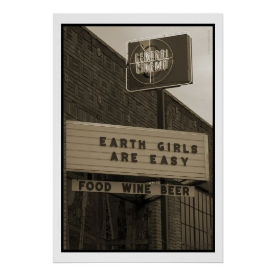 Earth Girls Poster