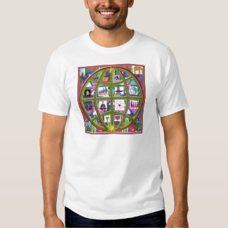EARTH Globe Planet Cosmos Universe NVN704 GIFTS T-shirts