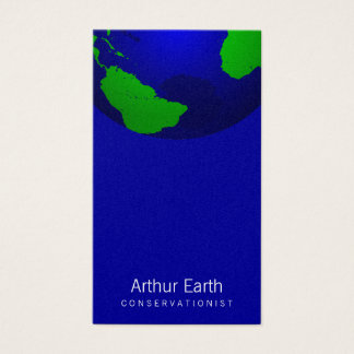 Earth Graphic Business Card