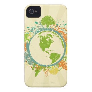 Earth Graphic iPhone 4 Cases