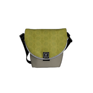 Earth Green - crossbody messenger bag