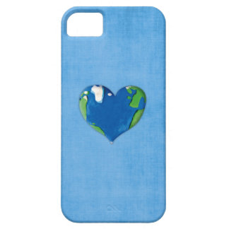 earth heart iPhone 5 cover