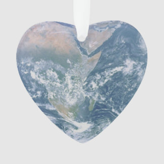 Earth Heart Ornament