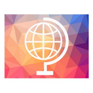 Earth Holders Icon Postcard