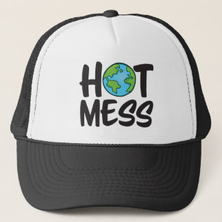 Earth Hot Mess Trucker Hat