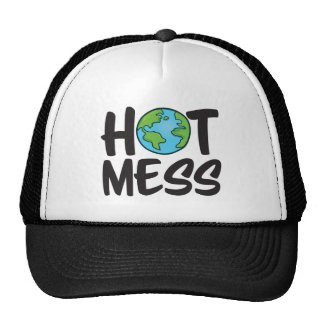 Earth Hot Mess Trucker Hat