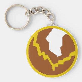 Earth Icon Keychain
