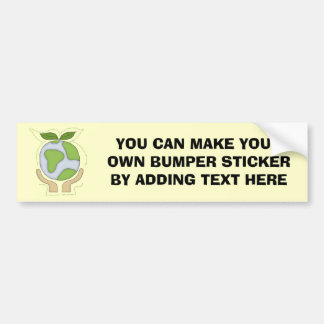 Earth In Our Hands T-shirts and Gifts Car Bumper Sticker