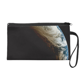 Earth in Shadow and Light Wristlet