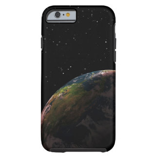 Earth in shadow in outer space tough iPhone 6 case