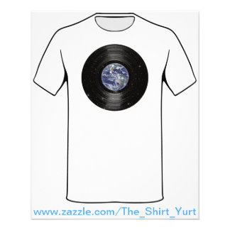 Earth In Space Vinyl LP Record 11.5 Cm X 14 Cm Flyer