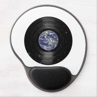 Earth In Space Vinyl LP Record Gel Mouse Pad