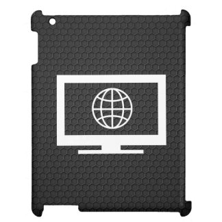 Earth Internets Pictograph iPad Cases