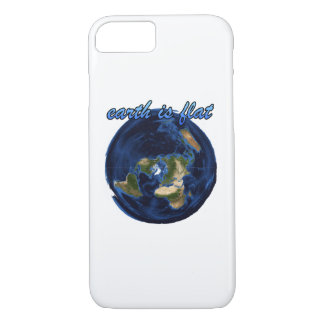 earth is flat iPhone 7 case