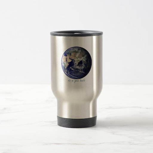 Earth - it's in your hands mug