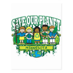 Earth Kids Minnesota Postcard