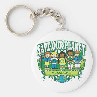 Earth Kids Missouri Key Ring