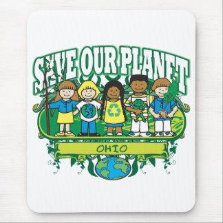 Earth Kids Ohio Mouse Mat