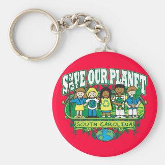 Earth Kids South Carolina Key Ring