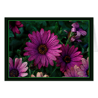 Earth laughs in flowers: Ralph Waldo Emerson Card
