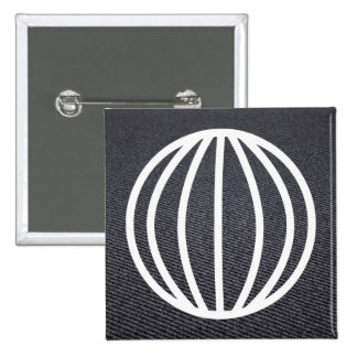 Earth Linings Icon 15 Cm Square Badge
