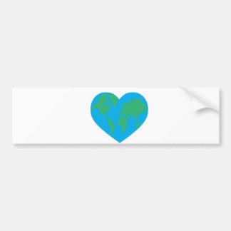 Earth Love Bumper Stickers