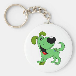 Earth Lover Pup Keychains