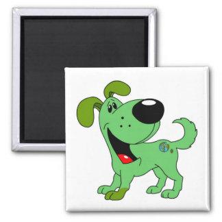 Earth Lover Pup Fridge Magnets