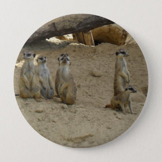 Earth male family 10 cm round badge