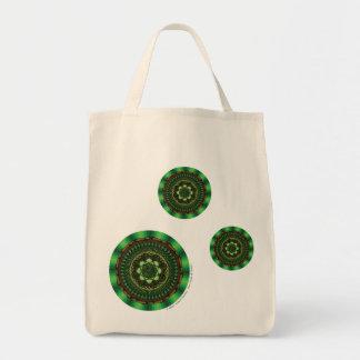 Earth Mandala Light Tote Bag